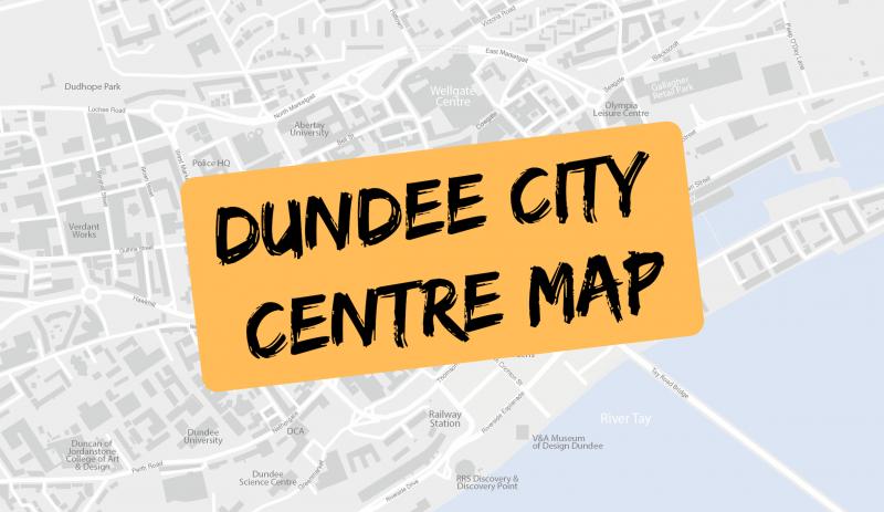 Dundee City Centre Map - dundee.com
