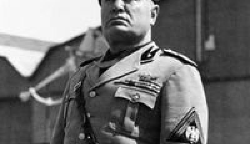 Mussolini and Rome