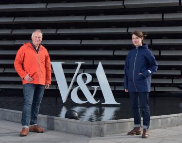 Museum, maker and manufacturer unite to create the Dundee Raincoat